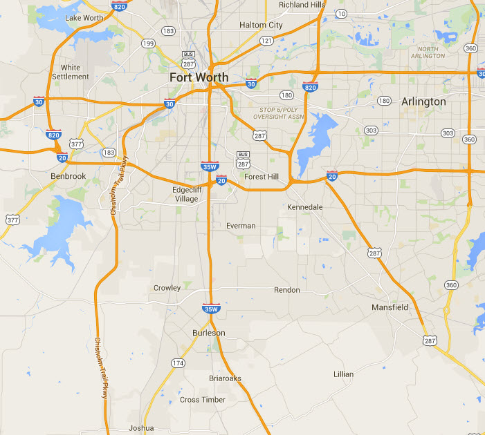 Map of our Service Area by Detail Home Inspection LLC